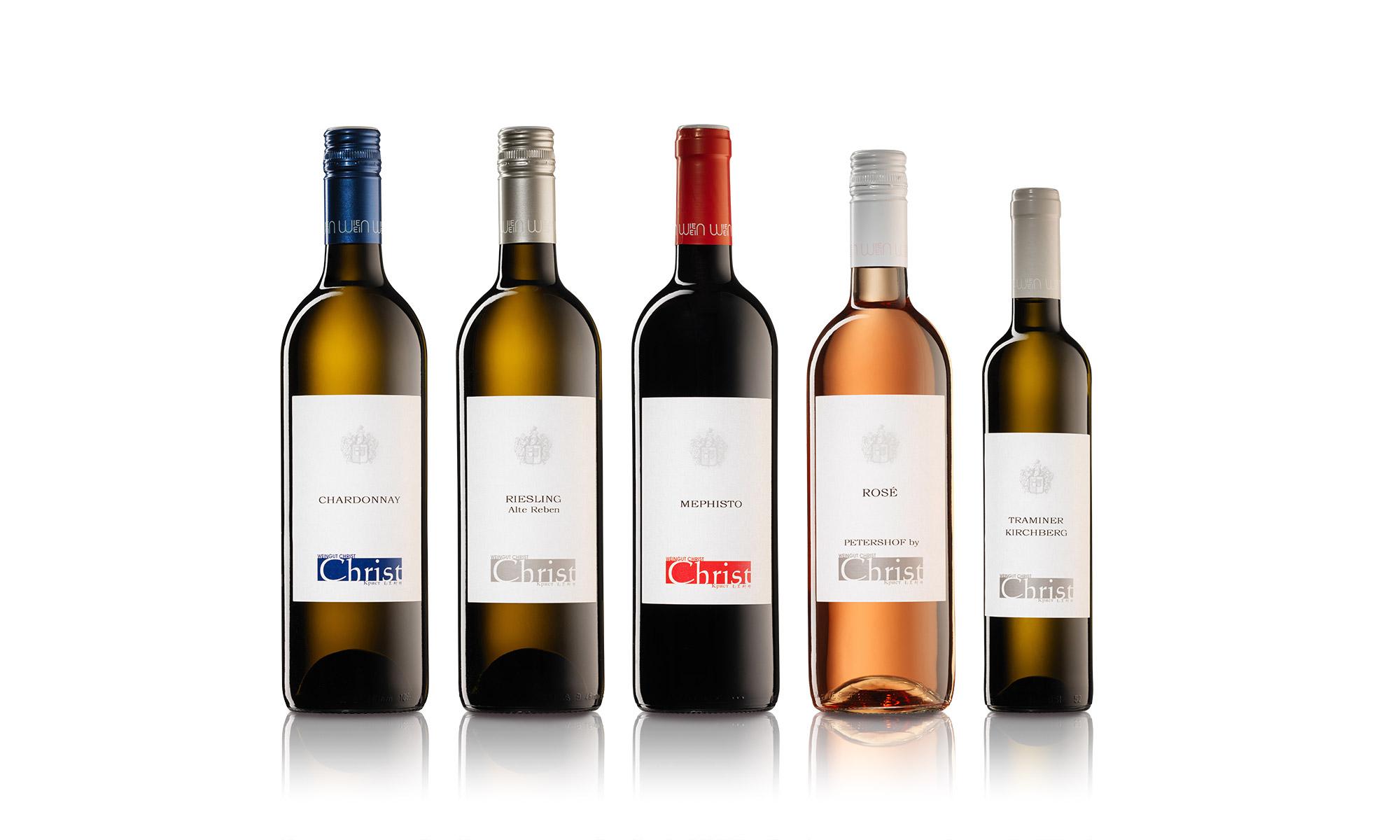 Fotograf Weinflaschen Wien